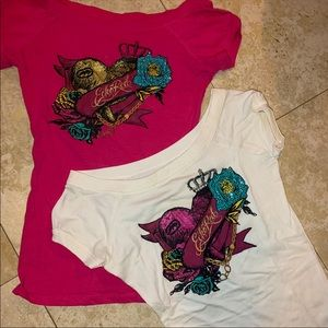 Bundle! Two Ecko Red Tops